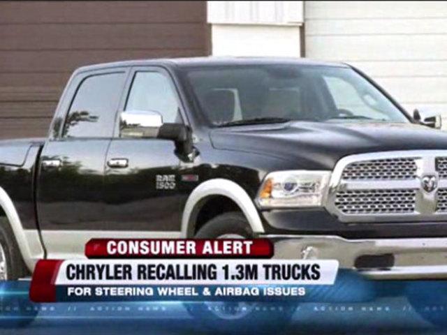 More Than 1m Trucks Recalled By Chrysler Ktnv Com Las Vegas