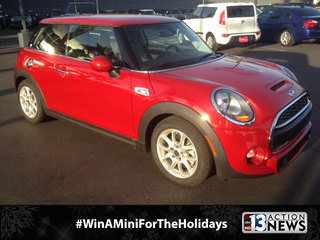 PHOTOS:  Here's the Mini we're giving away