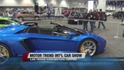 More than 350 cars on display at car show