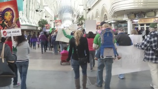 Climate change activists hold rally downtown