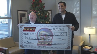 Operation Fireheat donates to groups for holiday