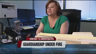 Embattled private guardian disciplined