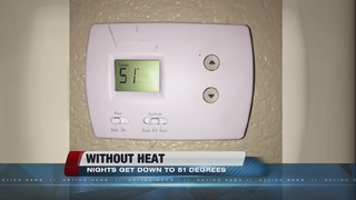 Heat finally fixed at woman's apartment