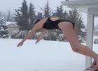 #SnowChallenge goes viral