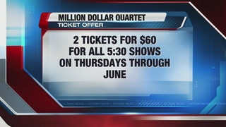 'Million Dollar Quartet' offers ticket special