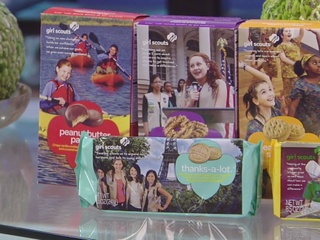 Girl Scouts kickoff cookie season