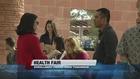 Health fair held as enrollment period ends