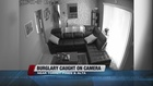 Video: Burglars yell 'police!' and break in