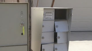Neighbors say they are fed up with mailbox theft