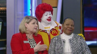 Ronald McDonald stops by Midday