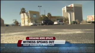 Witness speaks out about murder on Thursday