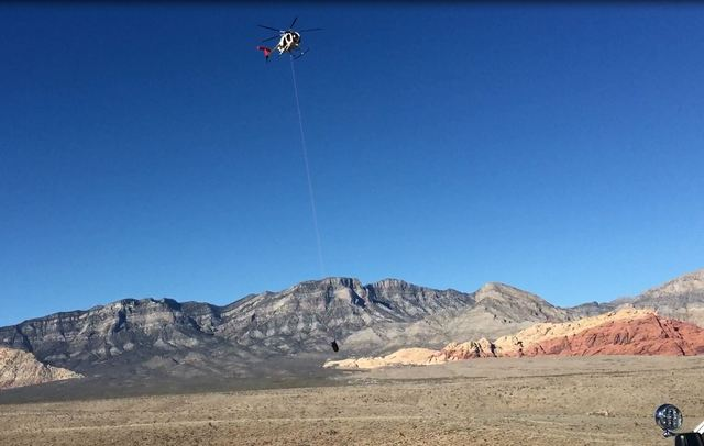 Death reported at Red Rock Canyon on Sunday