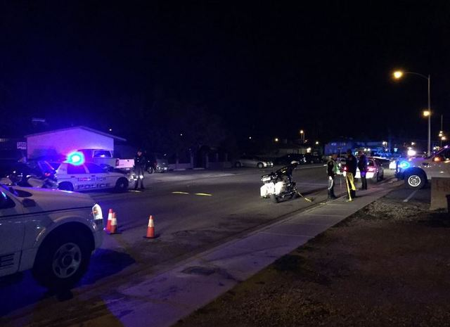 Juvenile killed in crash in North Las Vegas