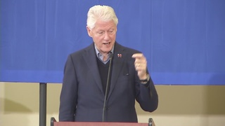 Bill Clinton stumps for Hillary in Pahrump