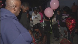 Vigil held for 2-year-old killed in NLV crash