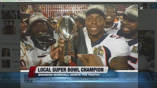 Las Vegas salutes Super Bowl winner