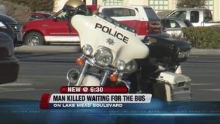 Man identified in last week's bus stop crash