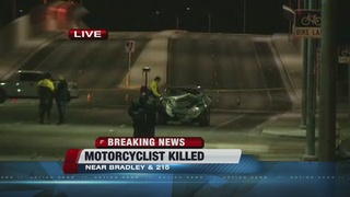 Motorcyclist identified in NW Las Vegas crash