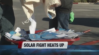 Arguments on 'grandfathering' solar users