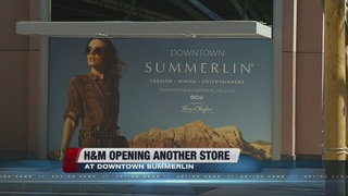 H&M opening store in Downtown Summerlin
