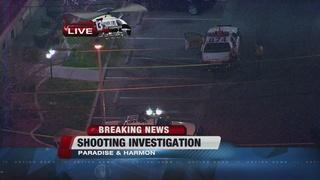 Son shoots father near Las Vegas Strip