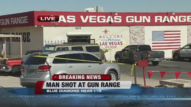 Man attempts suicide at Las Vegas Gun Range
