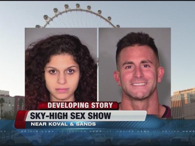 Sky high sex show