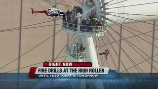 Fire drills conducted at High Roller