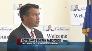 Gov. directs task force to work on solar policy