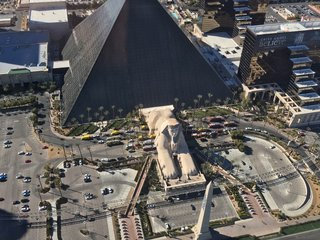 Substance at Luxor deemed to be non-hazardous