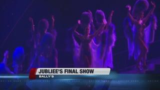 Last performance of 'Jubilee' on Las Vegas Strip