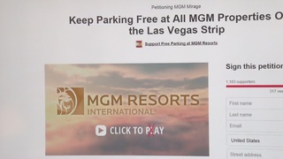 Petition seeks to stop paid parking on Strip