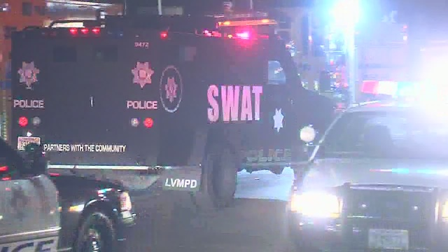 SWAT responds near Maryland Parkway and DI