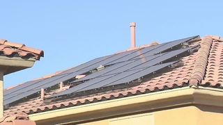 Woman says solar company