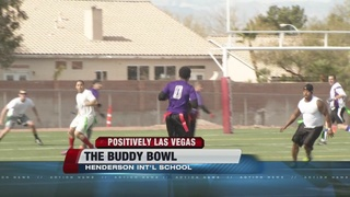 Military, civilians interact in Buddy Bowl