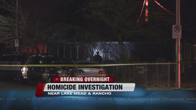 1 dead in shooting near Rancho, Lake Mead Blvd.