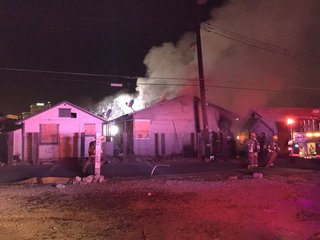 Firefighters investigate 2 vacant house fires