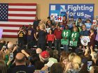 Hillary Clinton holds rally in Henderson