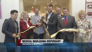 Former police officer opens marijuana dispensary