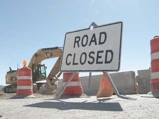 Clark County closing eastbound 215 on Monday