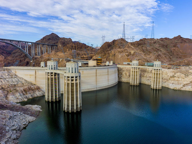 British man becomes first person to successfully swim across Hoover Dam