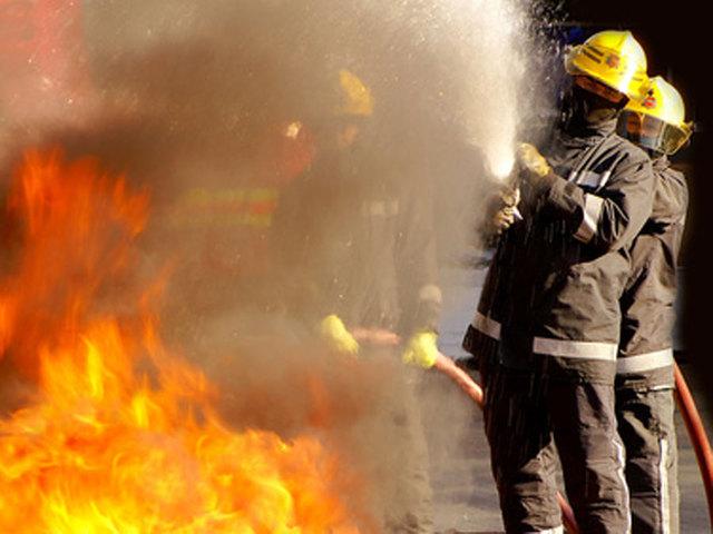 Gas leak fire reported near Hualapai, Anasazi