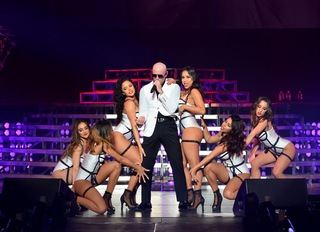 Pitbull returns to Planet Hollywood
