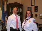 Local EMT honored for work during Strip crash