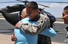 Man thanks soldiers for saving his life