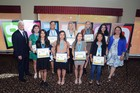 Cox presents $35K in scholarships to seniors