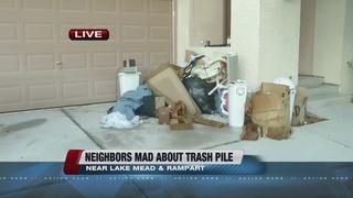 Woman wants mess cleaned up at neighbor's home