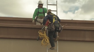Rainy weather keeps contractors busy