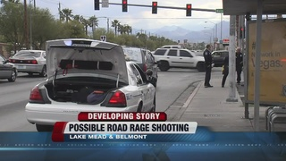 Man shot in NLV, possibly result of road rage