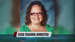 CCSD math teacher arrested on sex charges